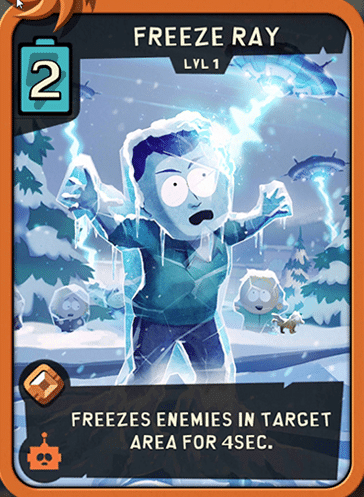 rayo de hielo