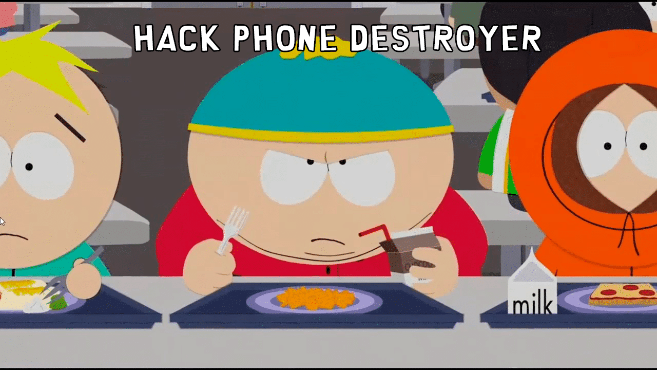 hack phone destroyer